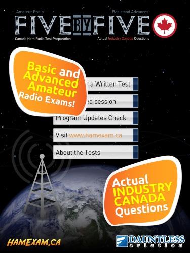 Five by Five CANADA Ham Radio Exam Preparation - HamExam ca